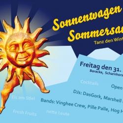 Designerin-Münster-Sonnenwagen-Baracke-Flyer-gestaltung