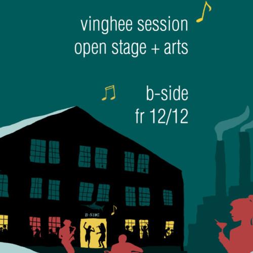 Designerin-Münster-Vinghee-session-B-side-Flyer-gestaltung