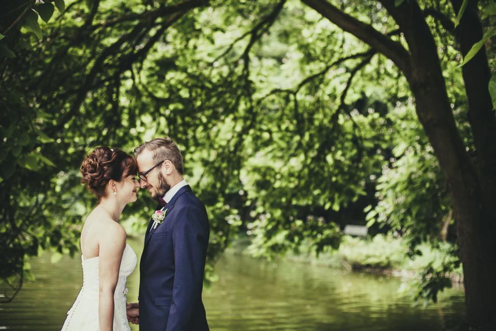 Hochzeitsfotos authentisch
