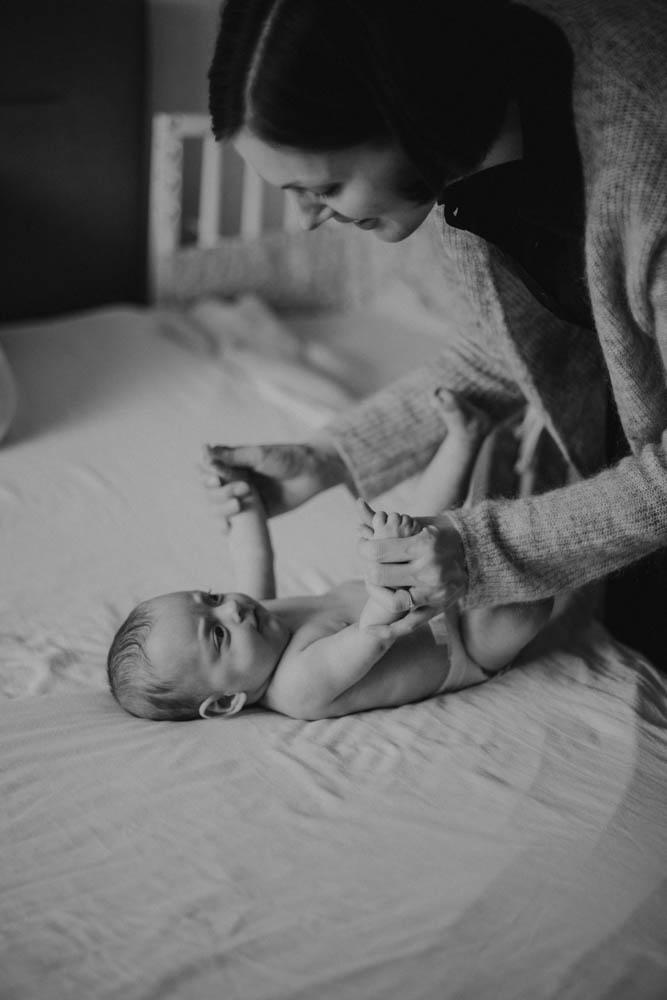 Neugeborenenfotos von Emilé